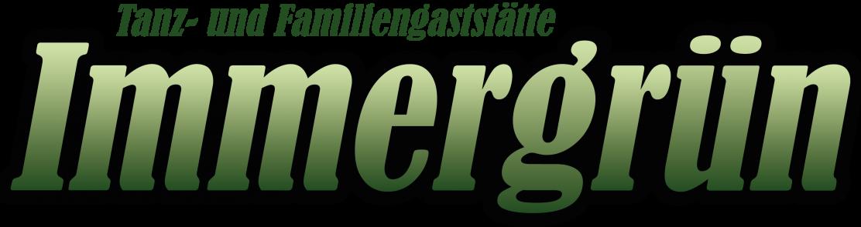 Gaststätte Immergrün Logo