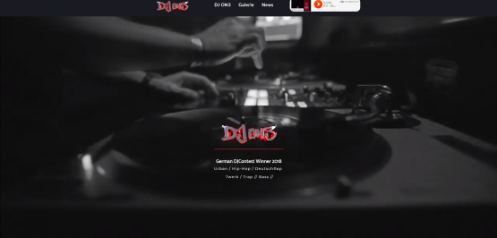 DJ ON3 Webdesign Dresden